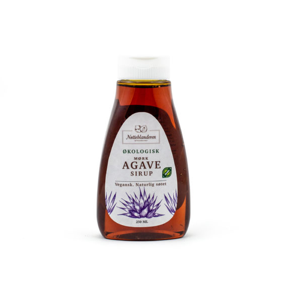 Økologisk agave sirup mørk 250 ml