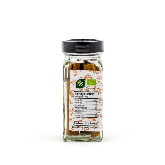 Økologiske ekte kanelstang 23 g