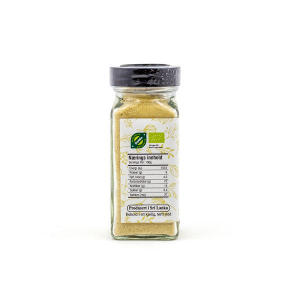 Økologisk ingefær malt 45 g