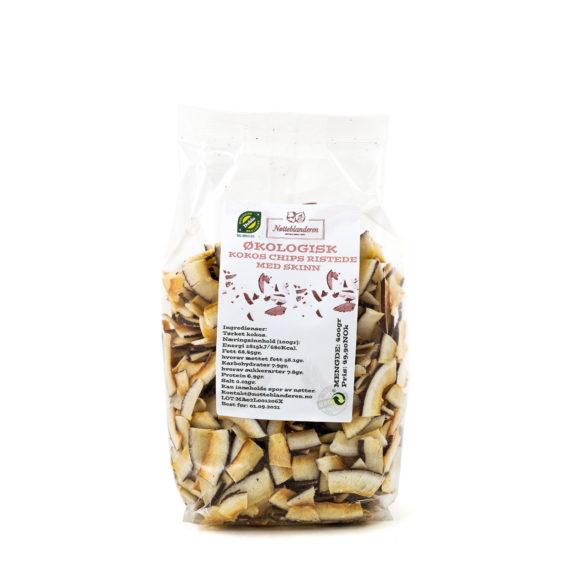 Kokosnøtt chips ristet