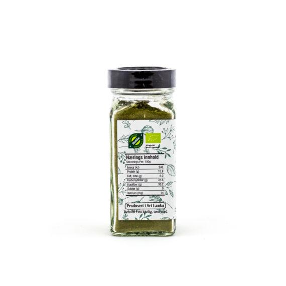 Økologisk karri blader 5 g