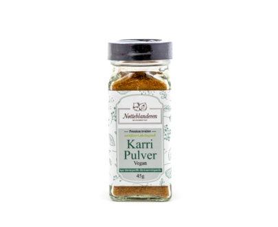 Økologisk karri pulver (vegansk) 45 g