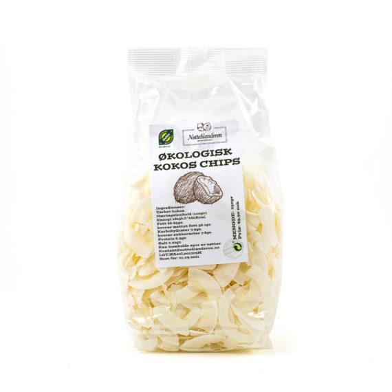 Økologisk kokos chips