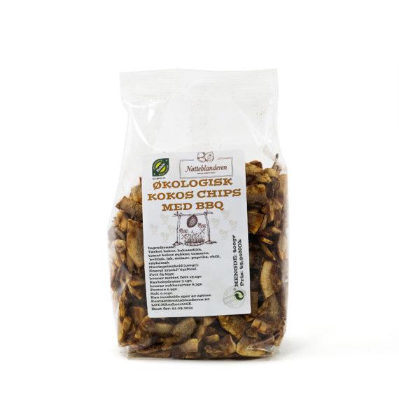 Kokosnøtt chips bbq 400 g