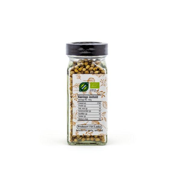 Økologiske korianderfrø 30 g