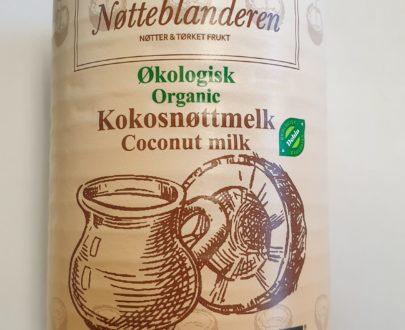 Økologisk kokosnøtt melk 400 ml