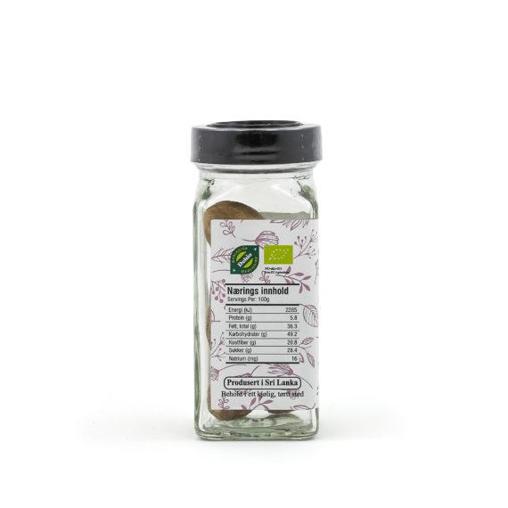 Økologisk muskat hel 45 g