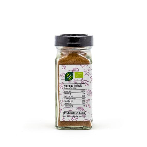 Økologisk muskat malt 60 g
