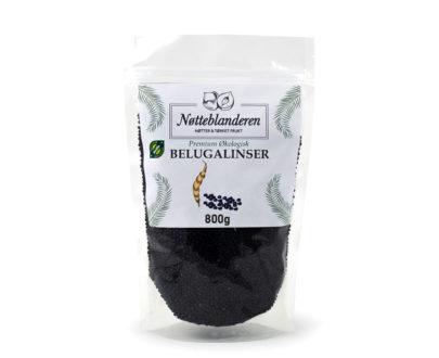 Økologiske belugalinser 800 g