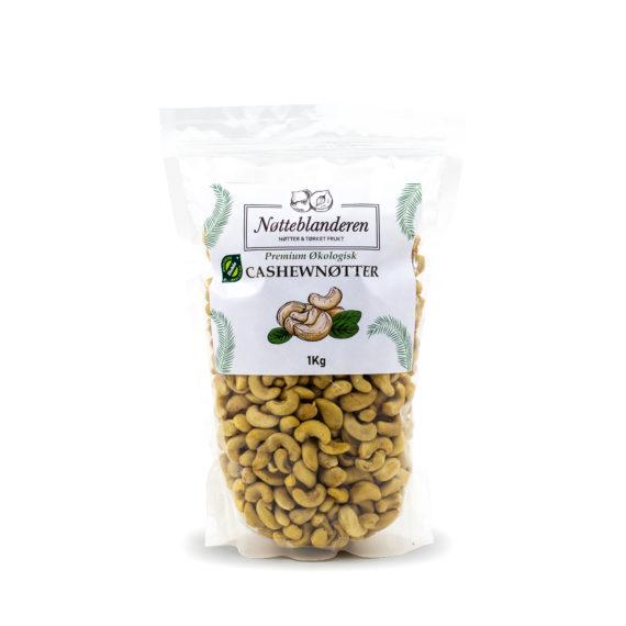 Økologiske Cashewnøtter 1kg