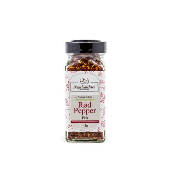 Rød pepper flak