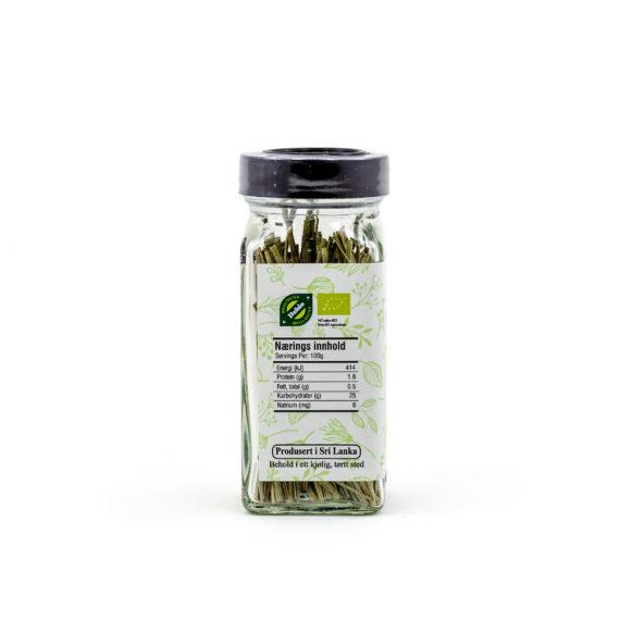 Økologisk sitrongress stilker 8 g