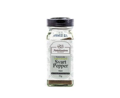 Økologisk svart pepper malt 52 g