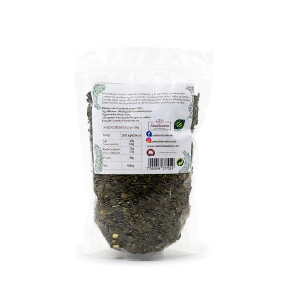 Økologiske gresskarkjerner 500