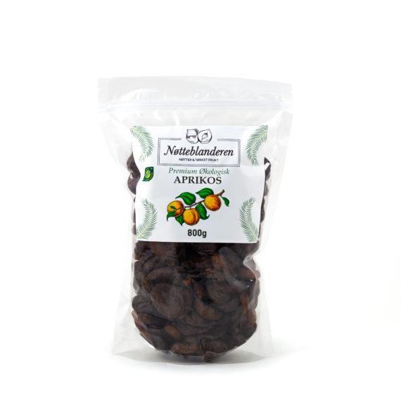 Økologiske aprikoser 800 g