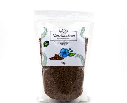 Økologiske linfrø 1 kg