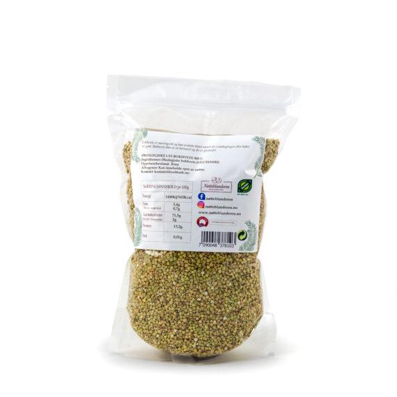 Økologisk bokhvete lys 900 g (GLUTENFRI)