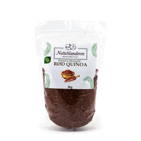 Økologiske quinoafrø røde 1 kg