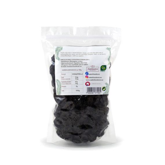 Økologiske svisker uten stein 250 g