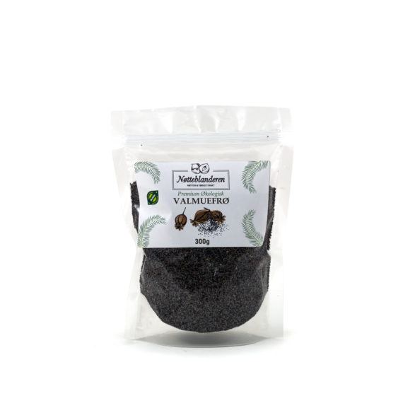 Økologiske valmuefrø 300 g