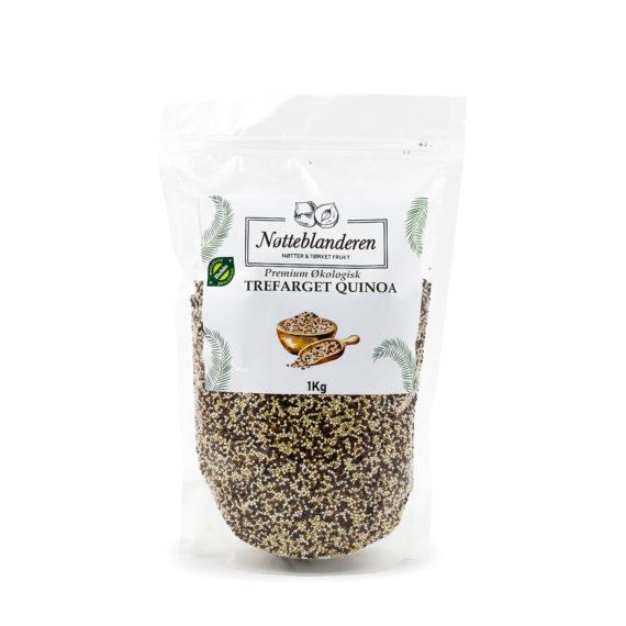 Økologiske quinoamiks (sort, hvit, rød) 1 kg