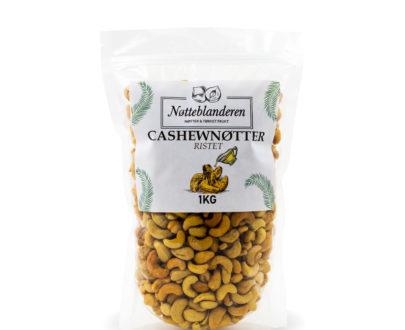 Cashewnøtter ristede og usaltede 1 kg