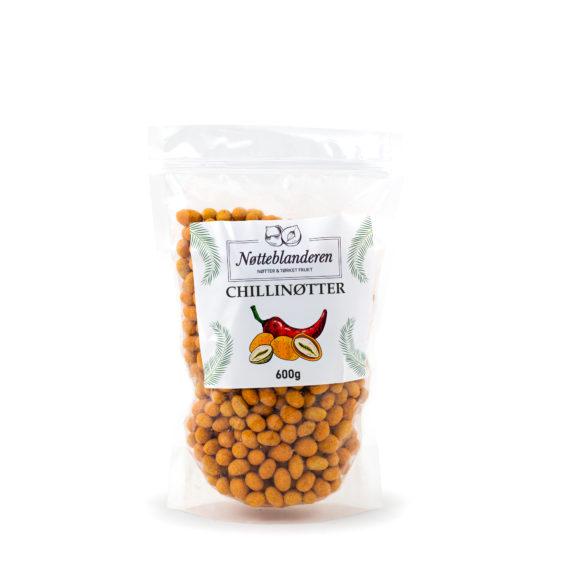 Chilinøtter 600 g