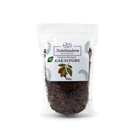 Økologiske kakaonibs 800 g