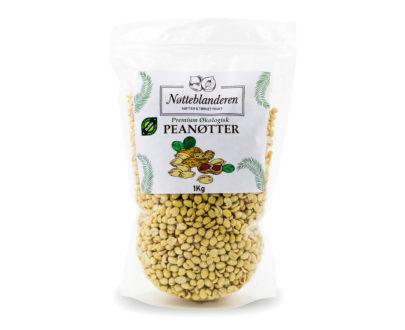 Økologiske peanøtter blansjerte 1 kg