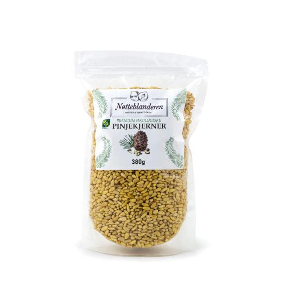 Økologiske pinjekjerner 380 g