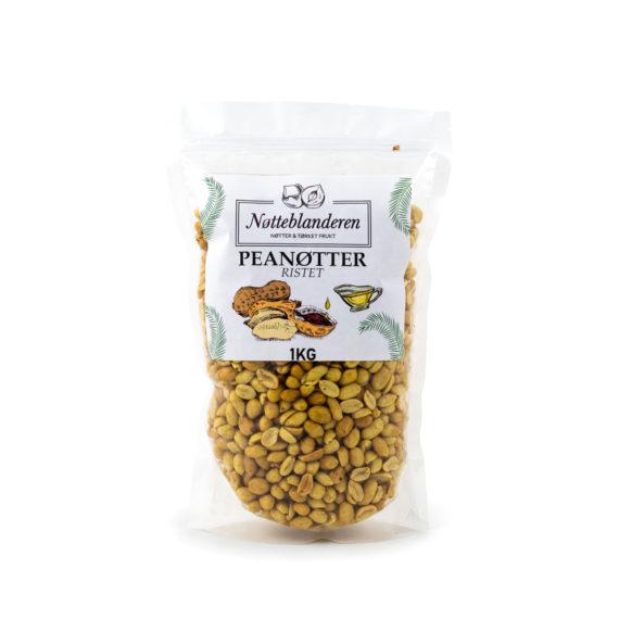 Peanøtter ristede og usaltede 1 kg