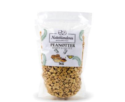 Peanøtter ristede og saltede 1 kg