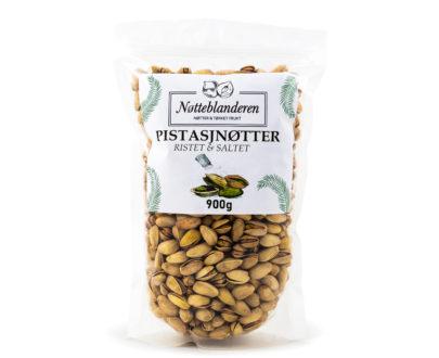 Pistasjnøtter ristede og saltede 900 g