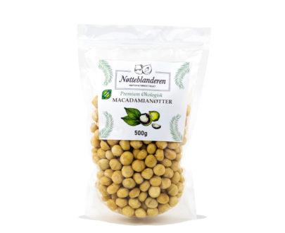 Økologisk Macadamia 500g