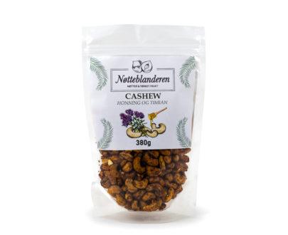 Cashewnøtter med timian og honning 380 g