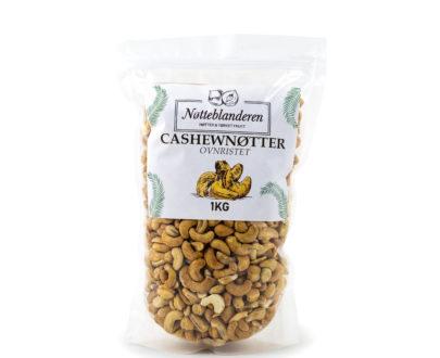 Cashewnøtter ovnsristede og usaltede 1 kg