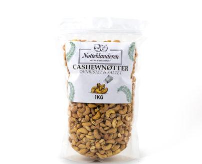 Cashewnøtter ovnsristede og saltede 1 kg