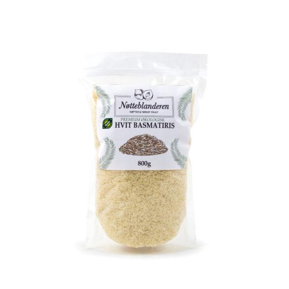 Økologisk hvit basmati ris 500 g