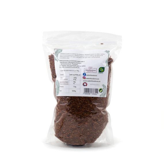 Økologisk rød jasmin ris 500 g