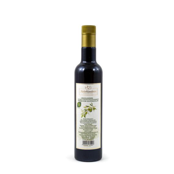 Økologisk extra virgin kladpresset premium olivenolje 0,5 liter
