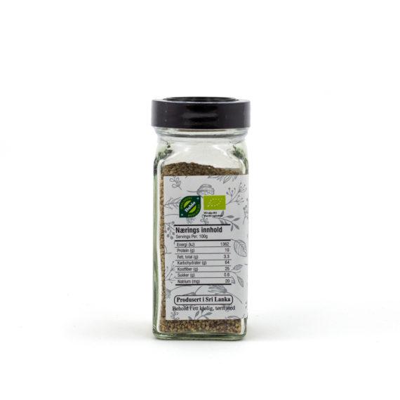 Økologisk hvit pepper frø 60 g