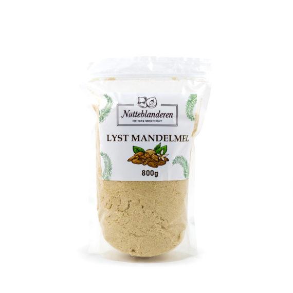 Økologisk mandelmel lyst 800 g