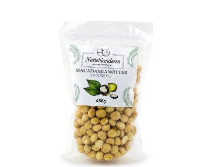 Macadamianøtter ristede 480 g