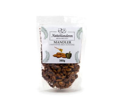 5-krydder mandler med honning