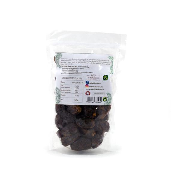 Økologisk Medjoul dadler 500 g eller 1 kg