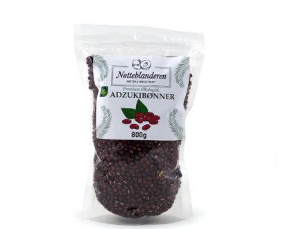 Økologiske adzukibønner (røde bønner) 800 g