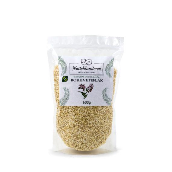 Økologiske bokhvete flak 600 g (GLUTENFRI)