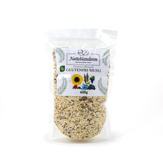 Økologisk musli glutenfri 600 g
