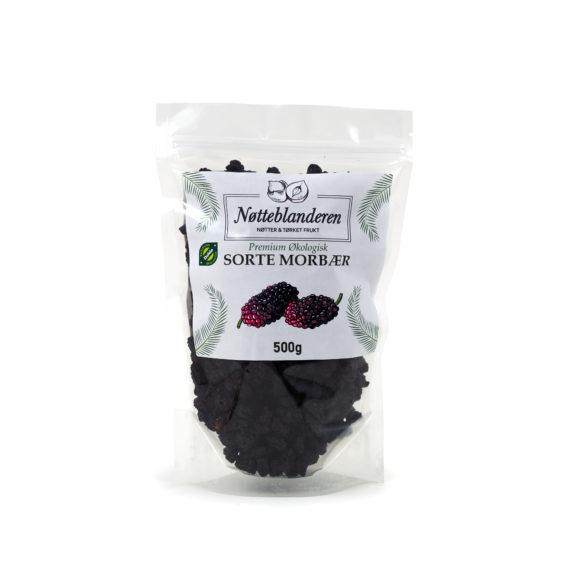 Økologiske sorte morbær 600 g