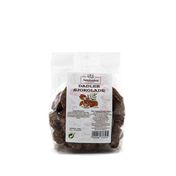 Dadler med sjokolade 460 g